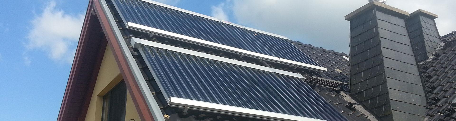 Solarkollektor Flüssigkeit